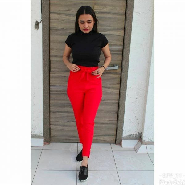 Pour Femme Complete Combo Set - Knitted Top with Cotton Pants08